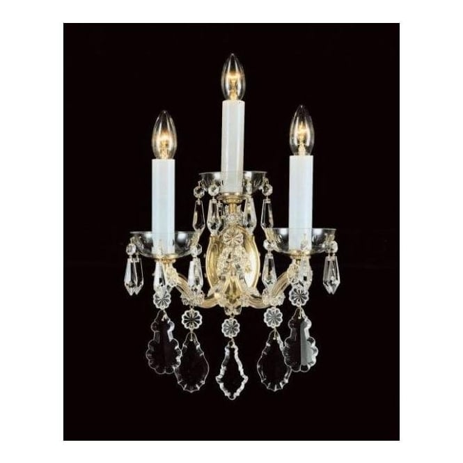 Crystal Antique French Style Wall Light