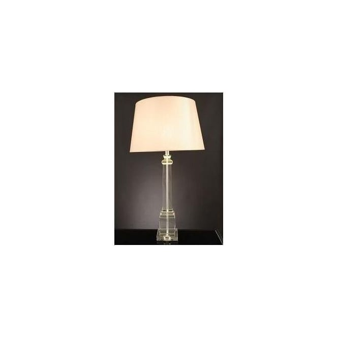 Crystal Square Column Lamp (Base Only)