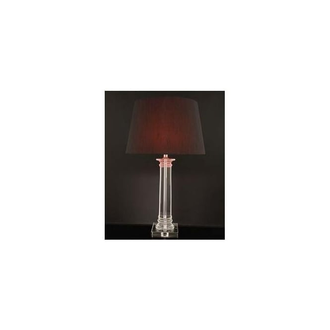 Crystal Tall Column Lamp (Base Only)