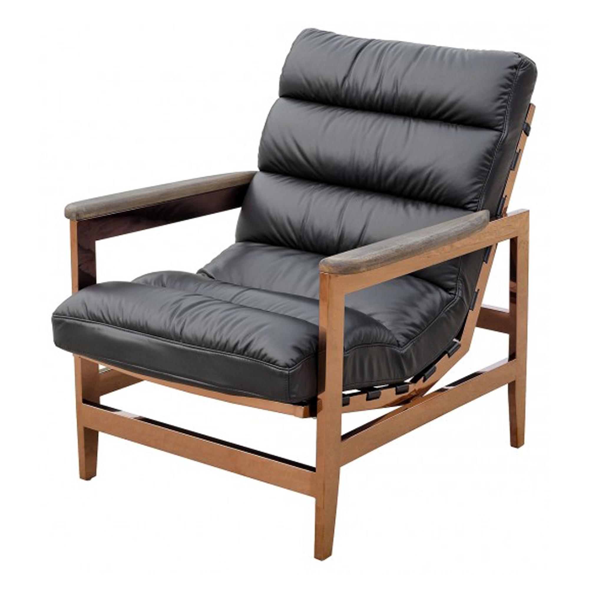 Cuba Leather Arm Chair Modern Contemporary Arm Chairs