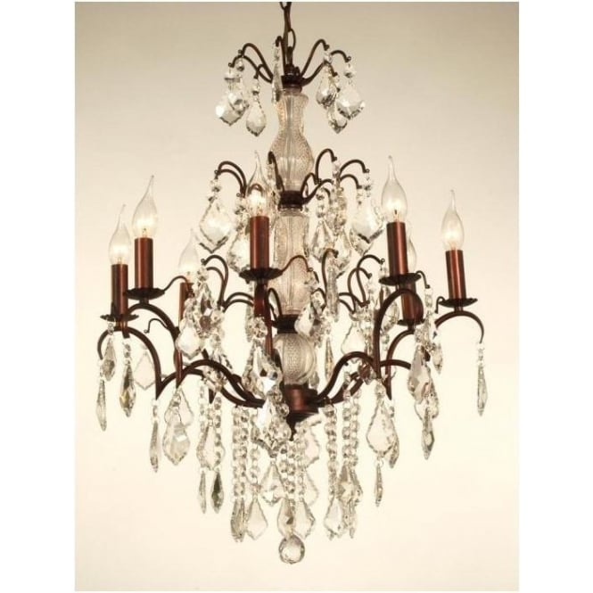 Cut Glass Antique French Style Chandelier