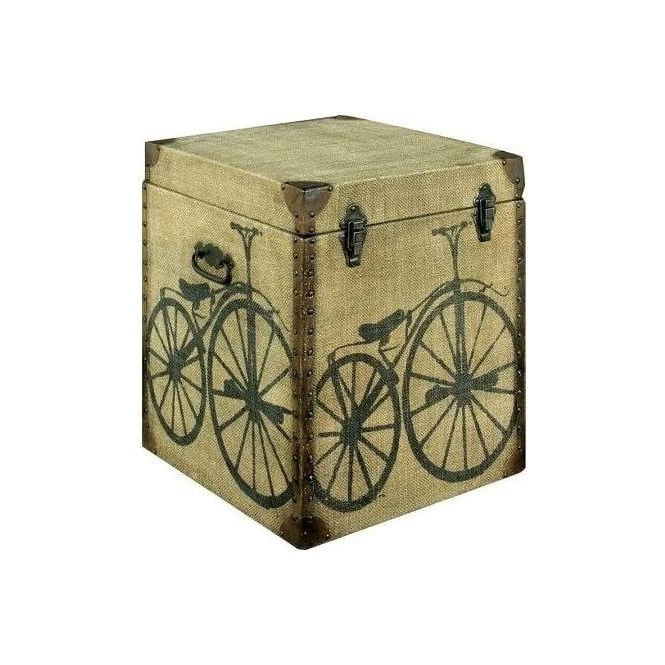 Cycle Canvas Chest