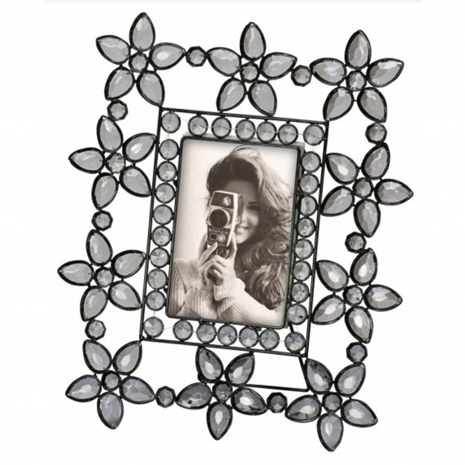 Daisy Jewelled Picture Frame