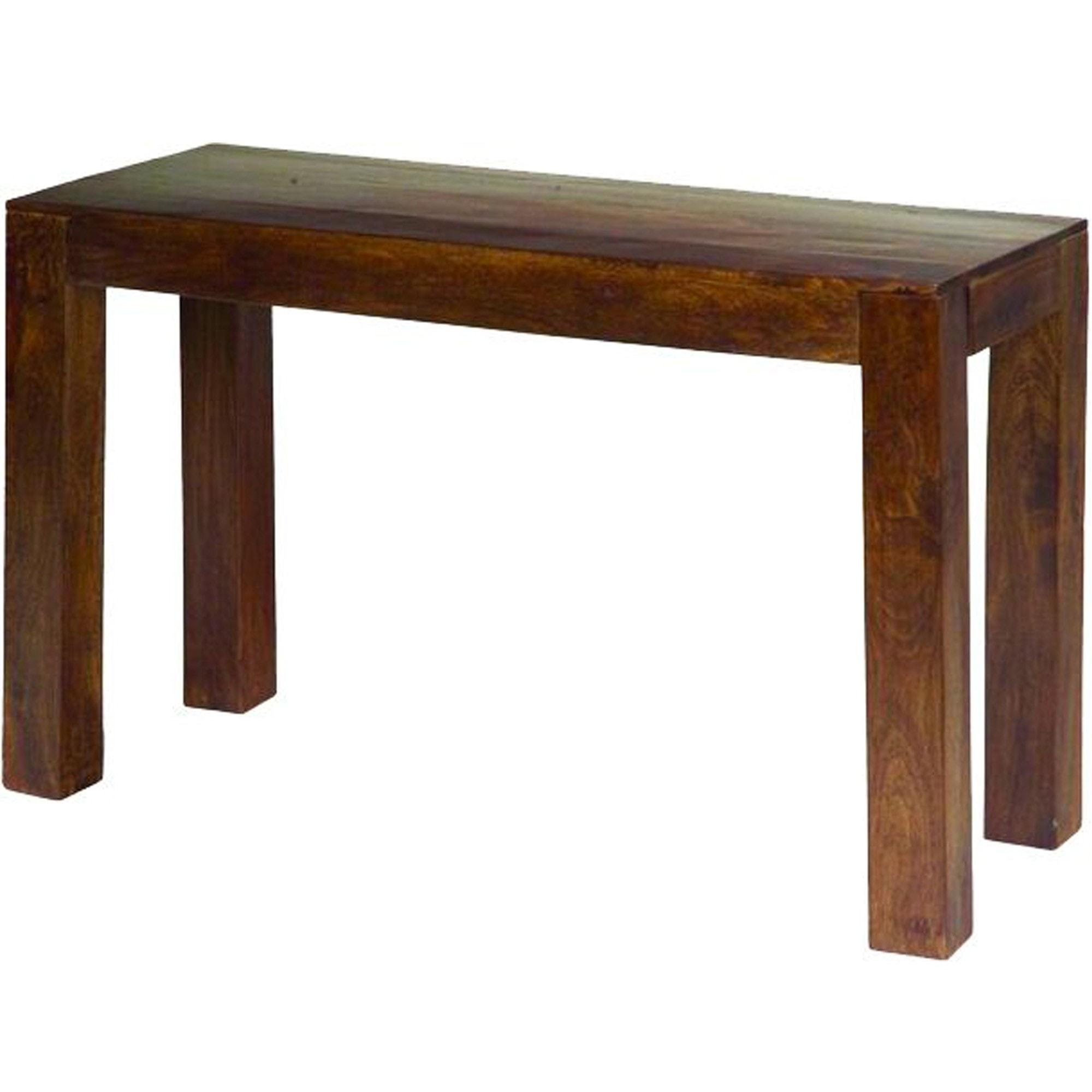 Dakota Console Table Mango Wood Dark