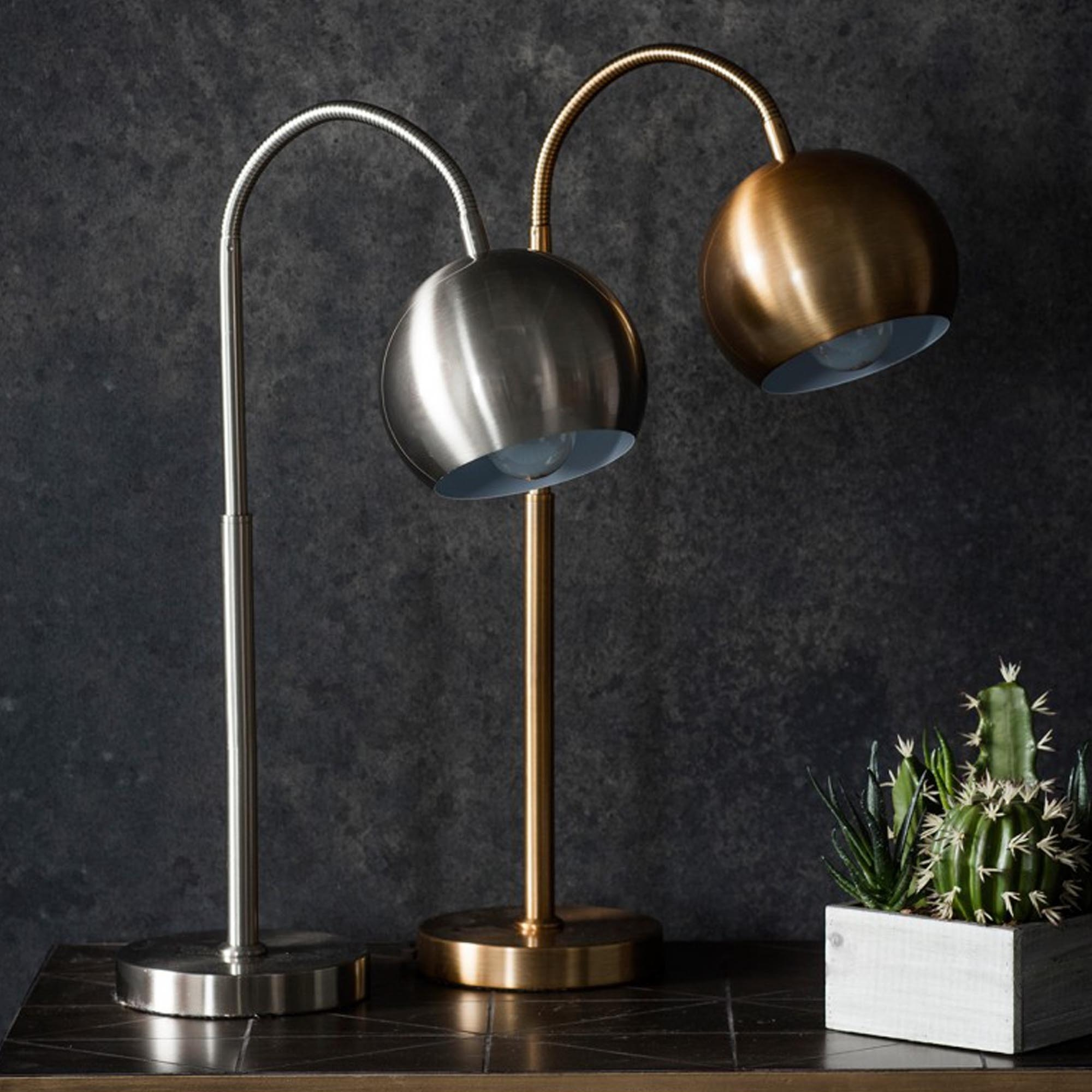 Dallas Bronze Table Lamp