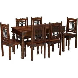 Darjeeling Large Dining Table Set