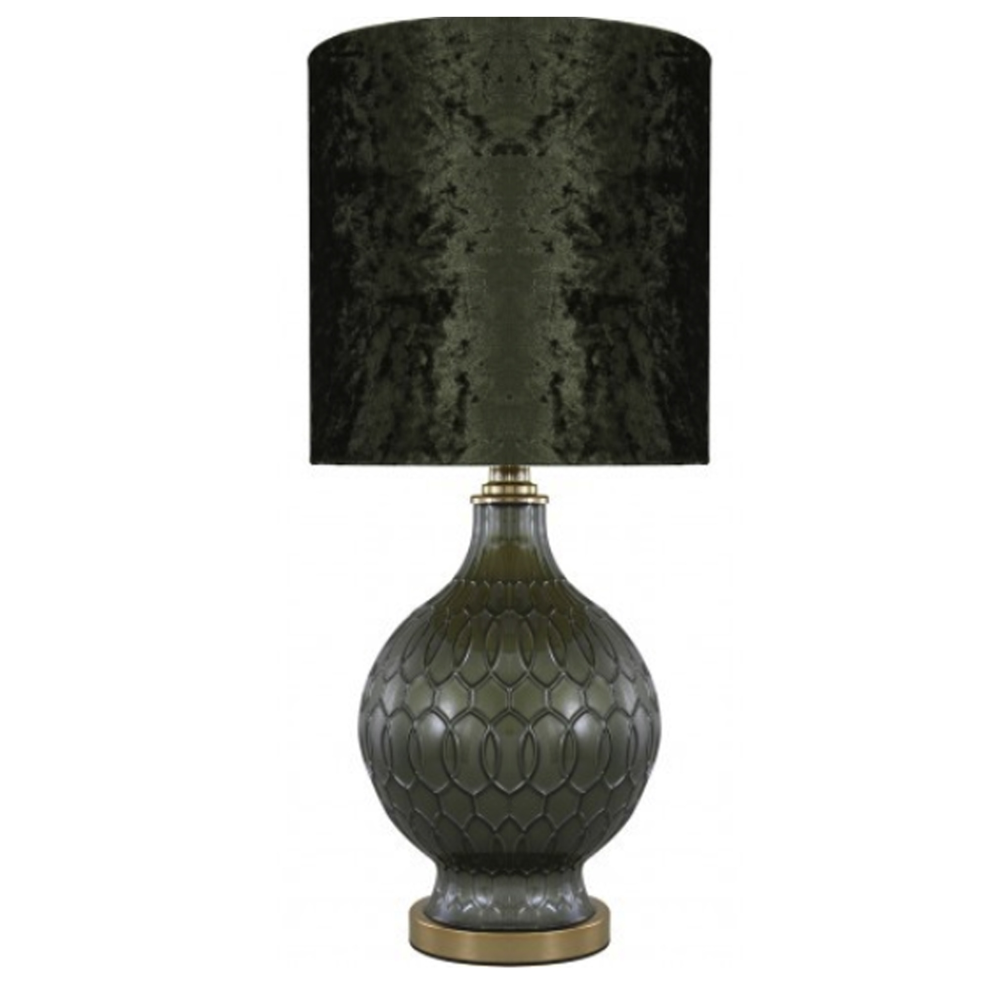 Dark Green Modern Table Lamp Table Lamps Home Accessories