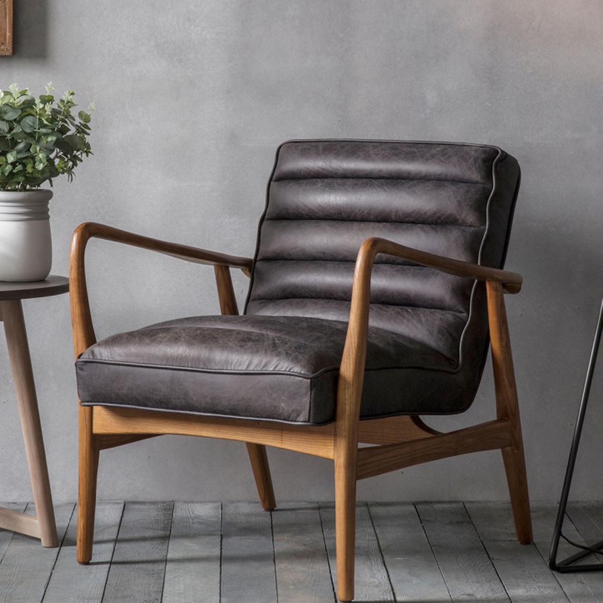 Datsun Modern Armchair | Armchairs | Black Armchairs