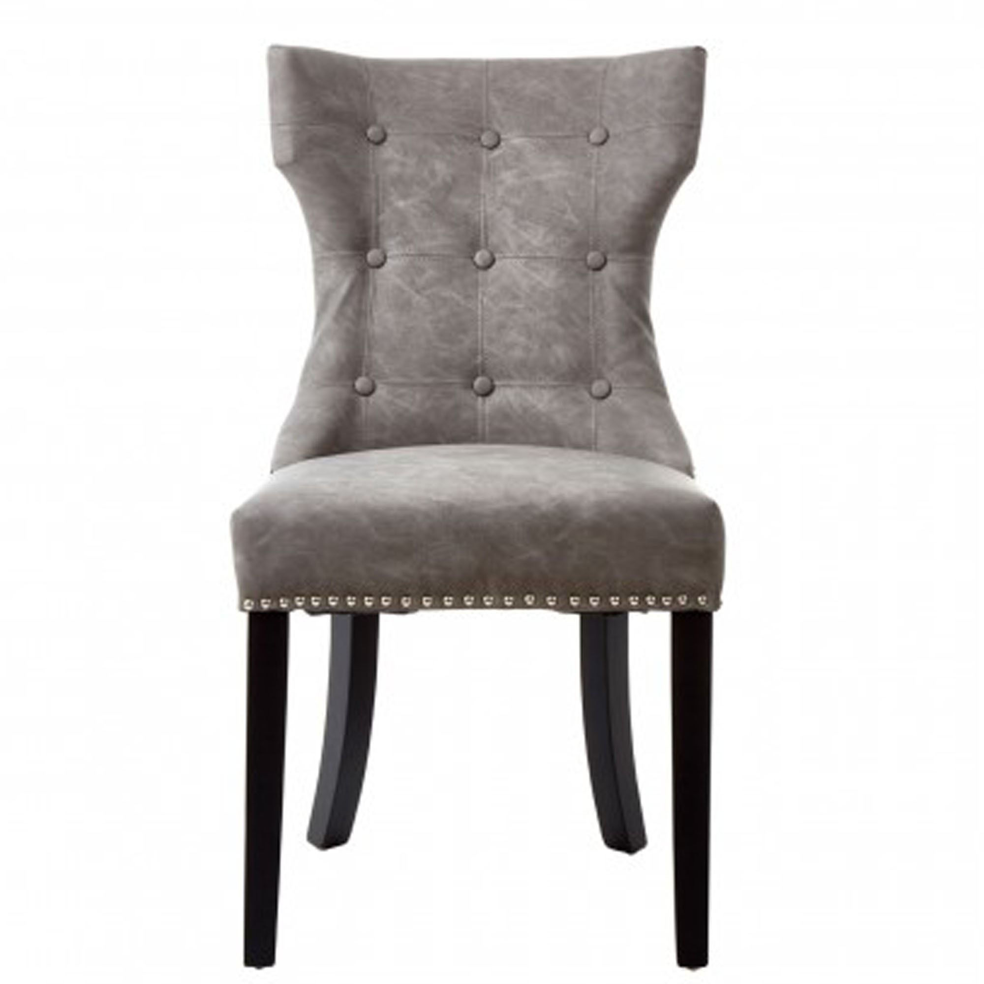 Amazing Daxton Grey Faux Leather Dining Chair Bralicious Painted Fabric Chair Ideas Braliciousco
