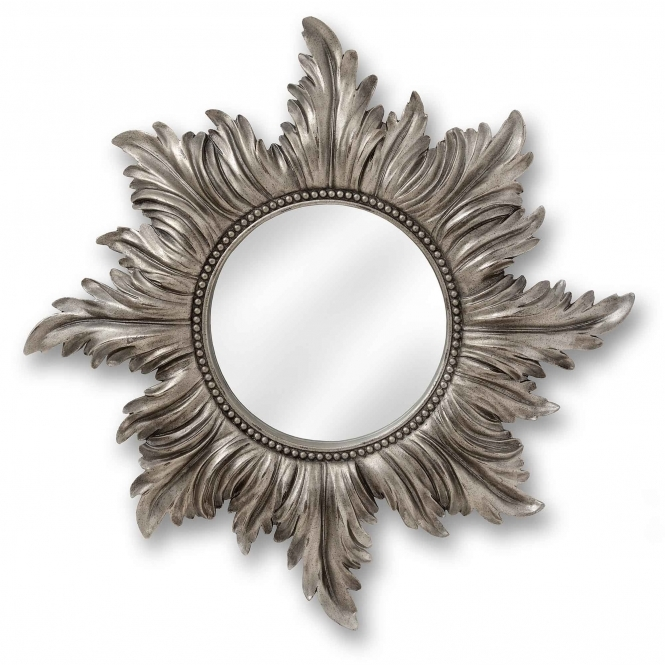 Decorative Antique French Style Star Wall Mirror