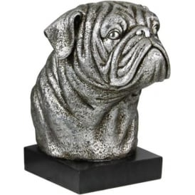 Decorative Bull Dog Book End