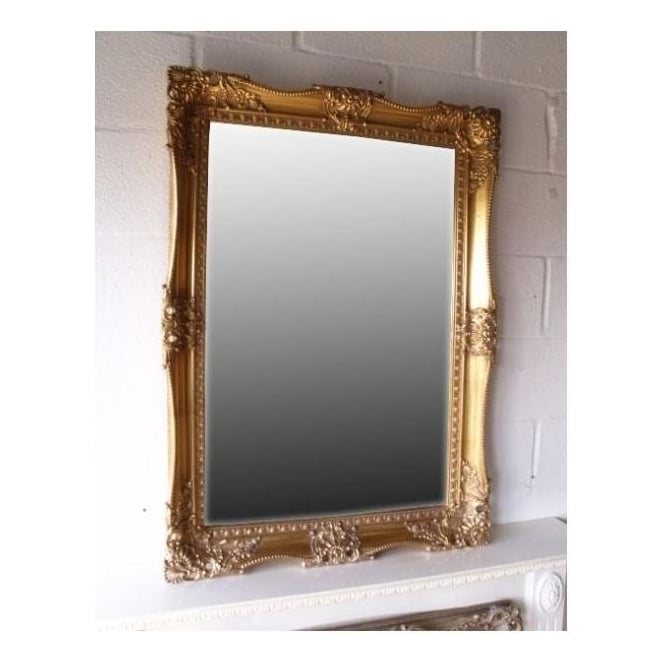 Decorative Framed Antique French Style Wall Mirror
