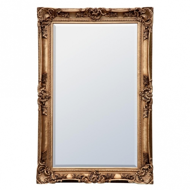 Decorative Gold Antique French Style Mirror