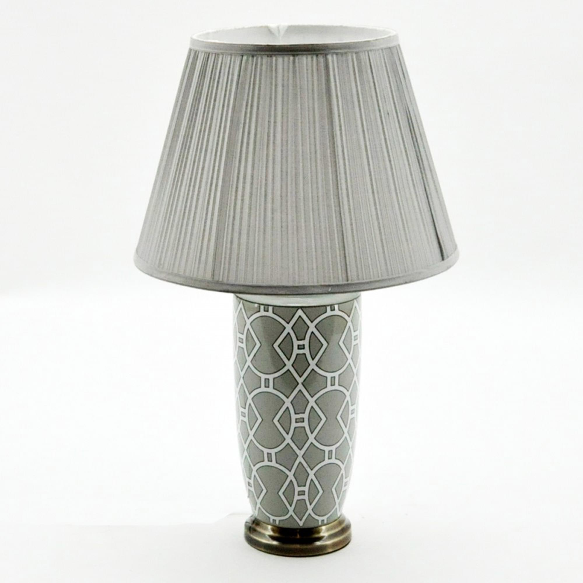 Decorative Grey Table Lamp | Table Lamps