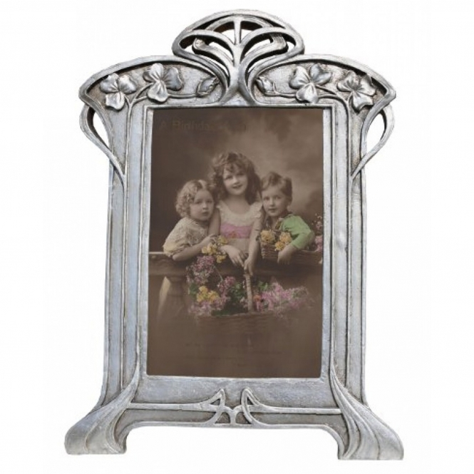 Decorative Silver Antique French Style Photo Frame