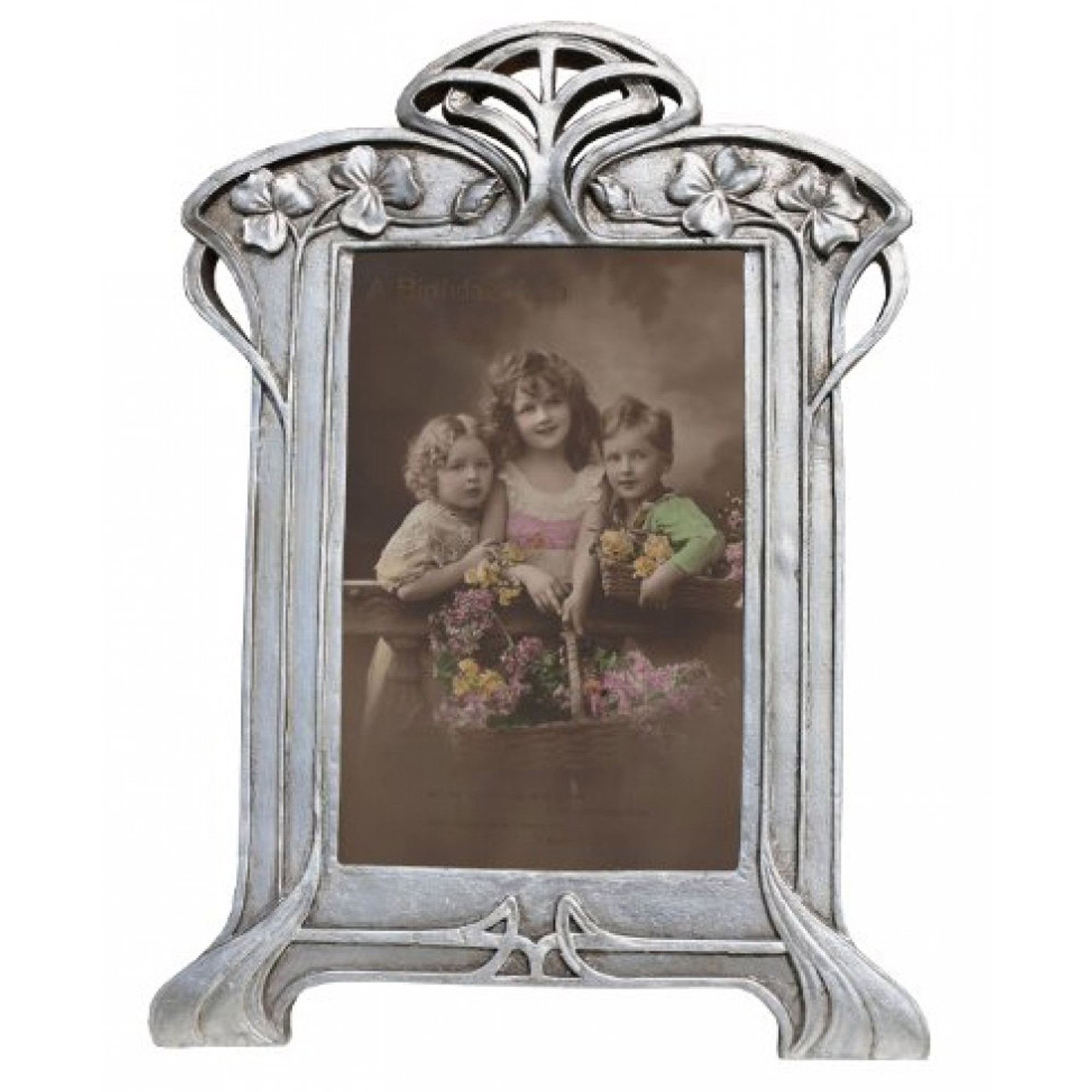 Decorative Silver Antique French Style Photo Frame | Photo Frames