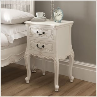 Bedside cabinets french bedroom furniture french bedside tables antique white watchthetrailerfo