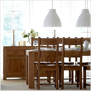 Chunky Oak Dining Collection