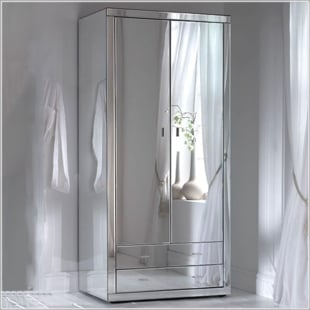 Mirrored Furniture | Mirrored Bedroom Furniture | Homes Direct 365