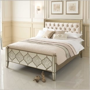 beds - Mirrored Bedroom Furniture