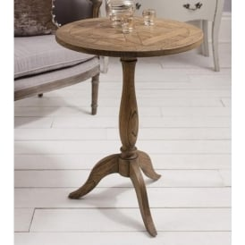Dexter Parquet Antique Fernch Style Side Table