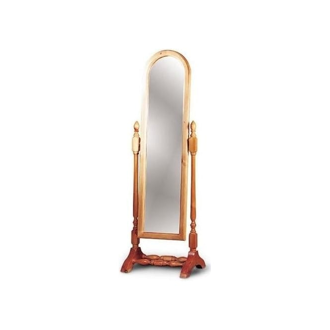 Dome Top Cheval Mirror