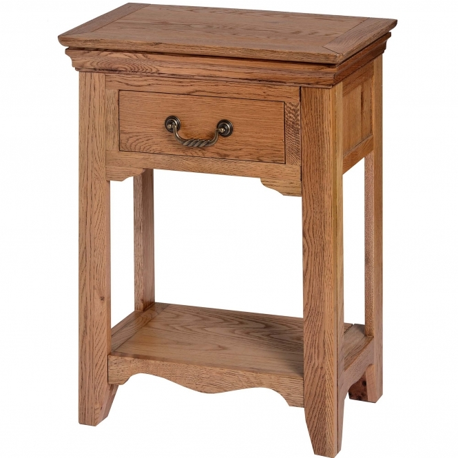 Dorchester One Drawer Table