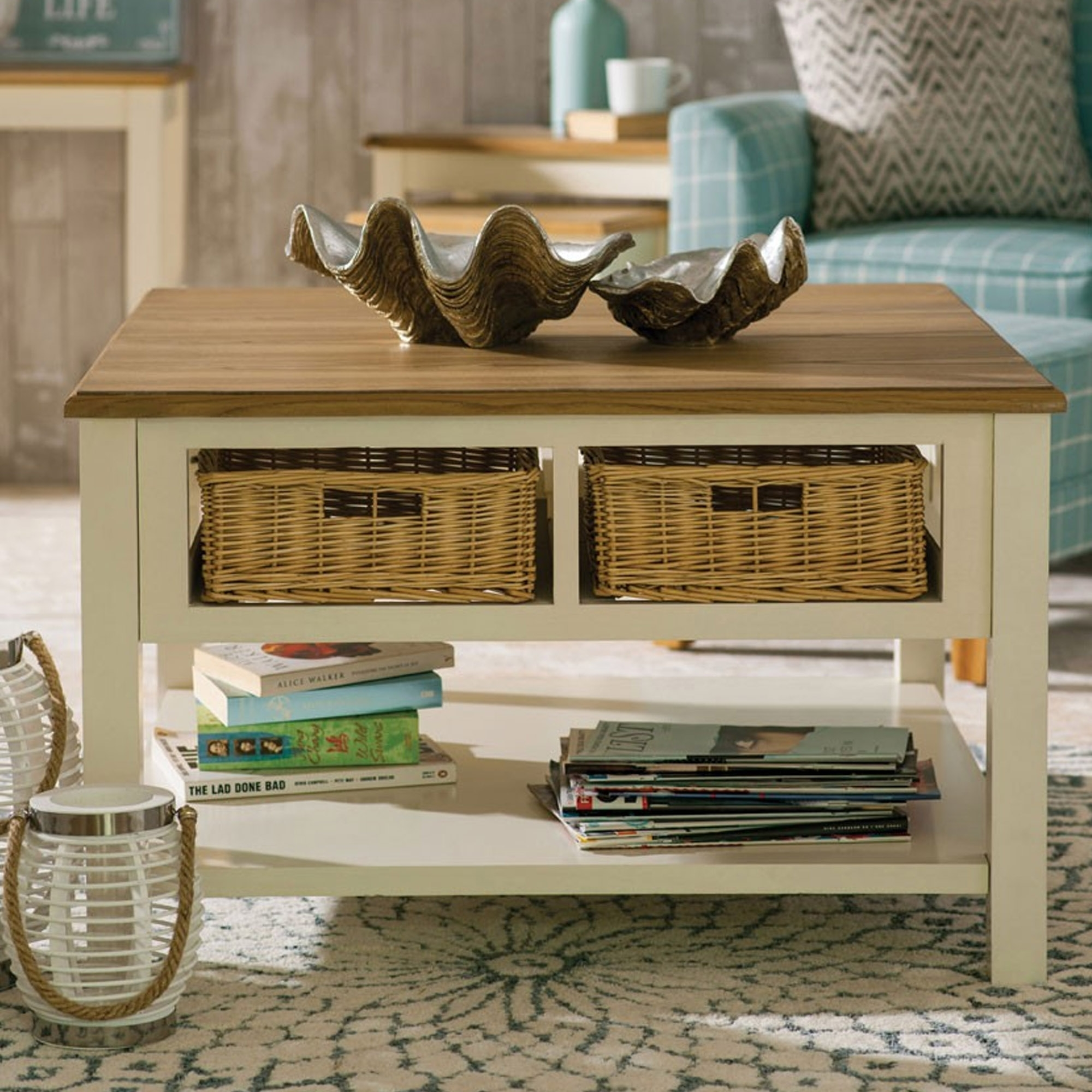 - Dorset Cream Coffee Table Modern & Contemporary Furniture