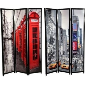 Double Sided Wooden Screen