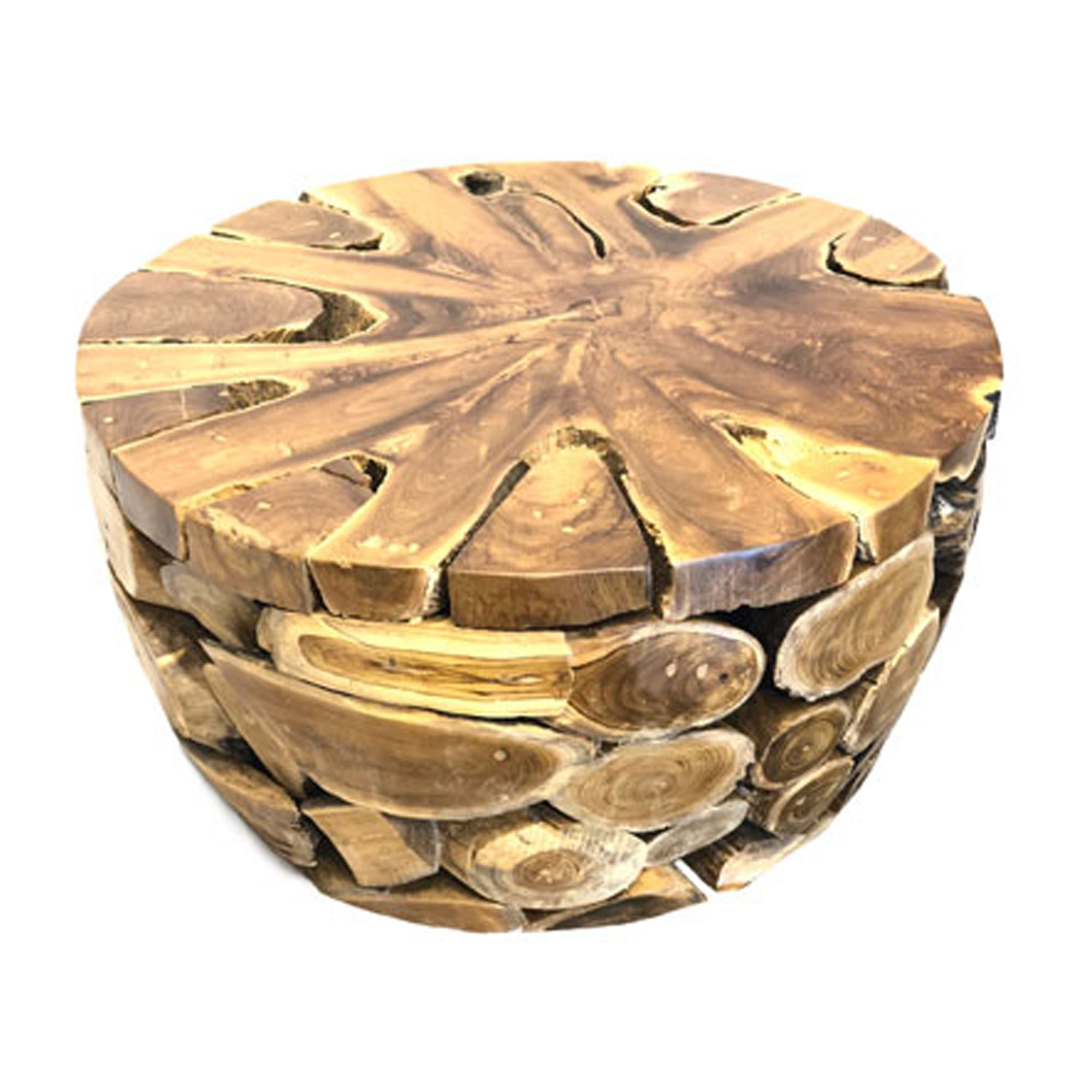 Teak Root Coffee Table Uk: Driftwood Coffee Table Teak Root Round Jati