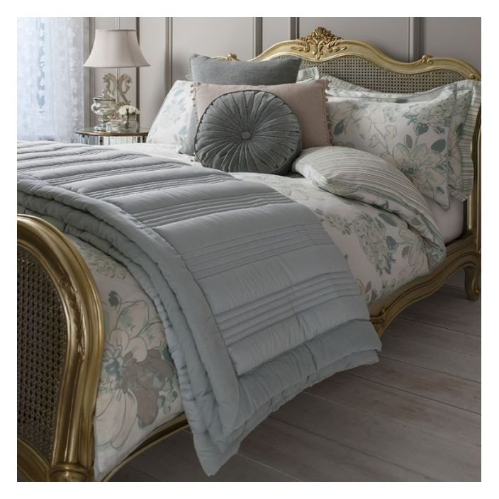 Bedspread Duck Egg Blue: Duck Egg Ashby Quilted Bedspread