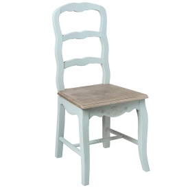 Duck Egg Shabby Chic Dining Chair