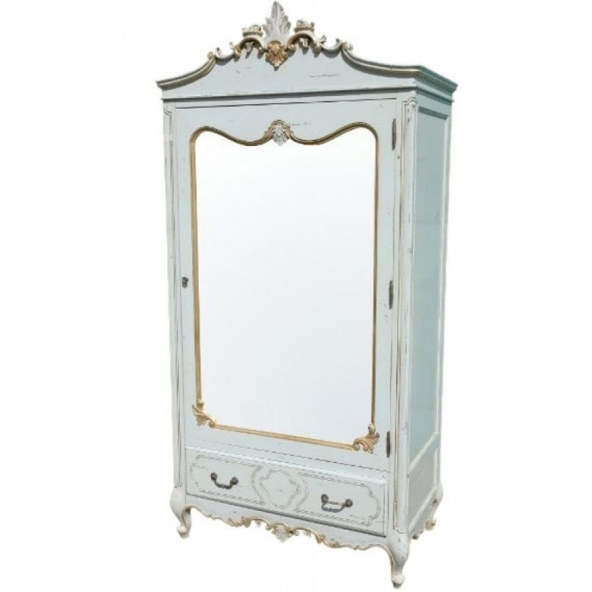 Eleanore Boudoir Antique French Style Wardrobe