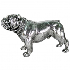 Electroplated Standing Bulldog