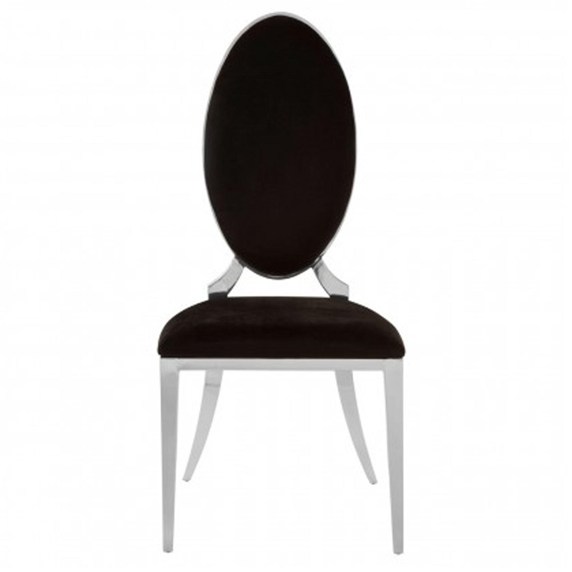 Terrific Eliza Black Velvet Dining Chair Inzonedesignstudio Interior Chair Design Inzonedesignstudiocom