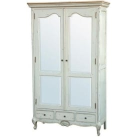 Eloise Boudoir Antique French Style Wardrobe