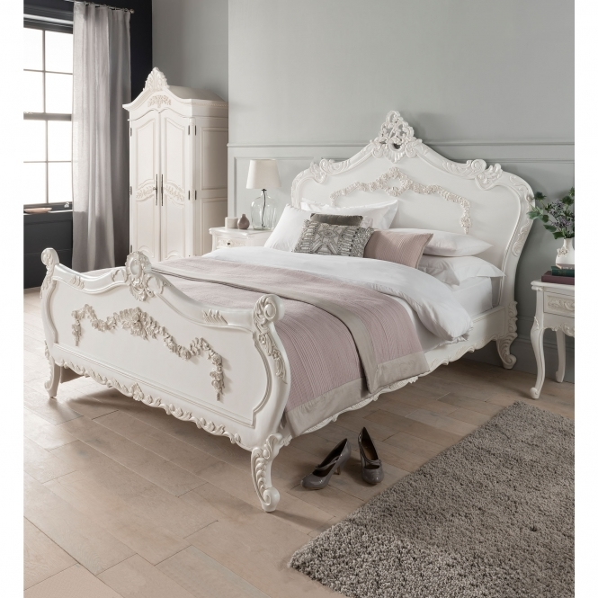 Emmanuelle Antique French Style Bed