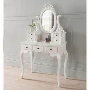 Emmanuelle Antique French Style Dressing Table