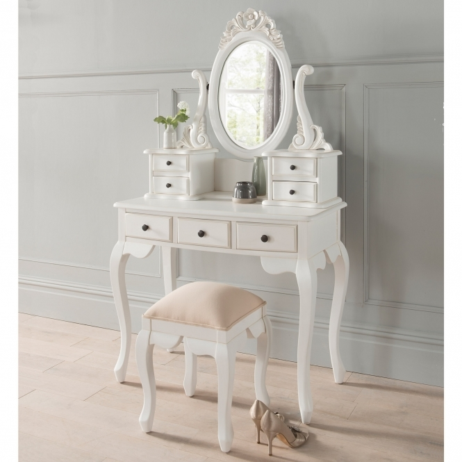Emmanuelle Antique French Style Dressing Table Set