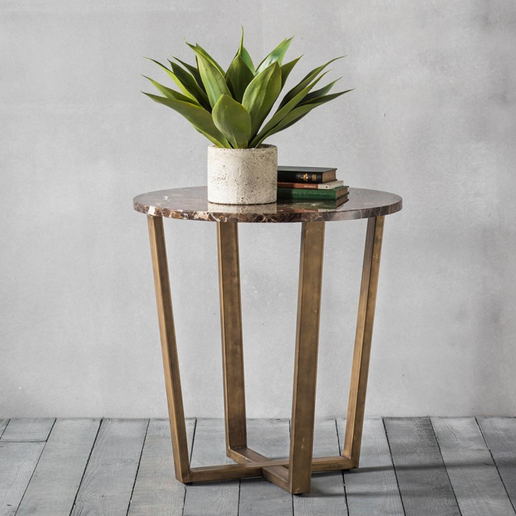 Emperor Round Side Table Side Tables Homesdirect365