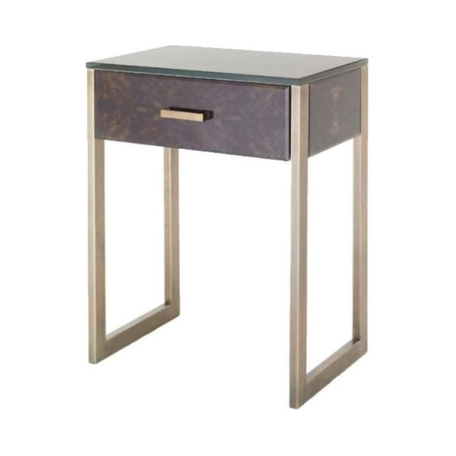 Enan 1 Drawer Side Table