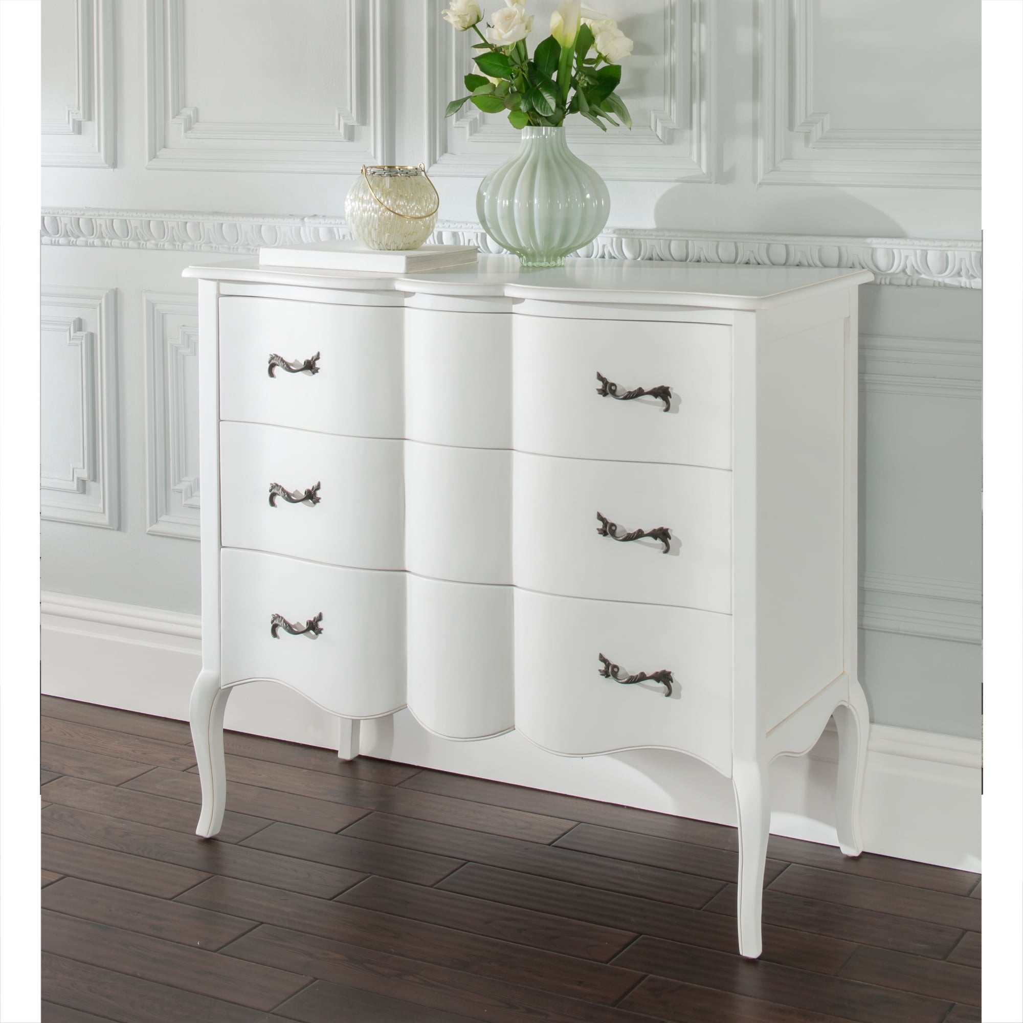 Estelle Antique French Style Chest Of Drawers Homesdirect365