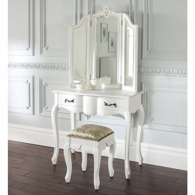 Estelle Antique French Style Dressing Table Set