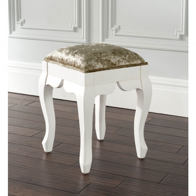Estelle Antique French Style Stool