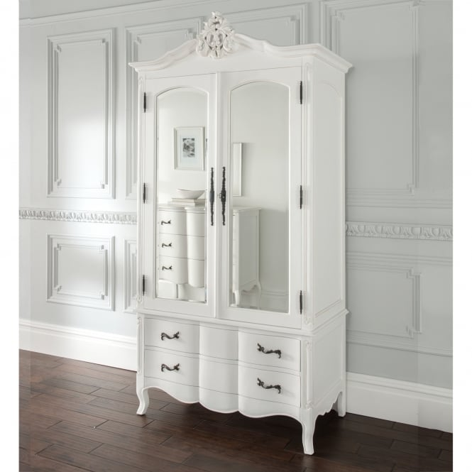 Estelle Antique French Style Wardrobe