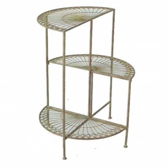 Etager 3 Tier Antique French Style Outdoor Shelf