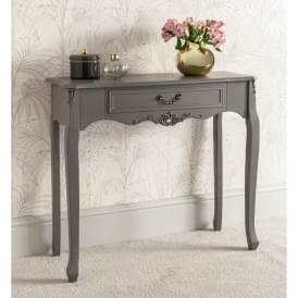 Etienne 1 Drawer Antique French Style Console Table