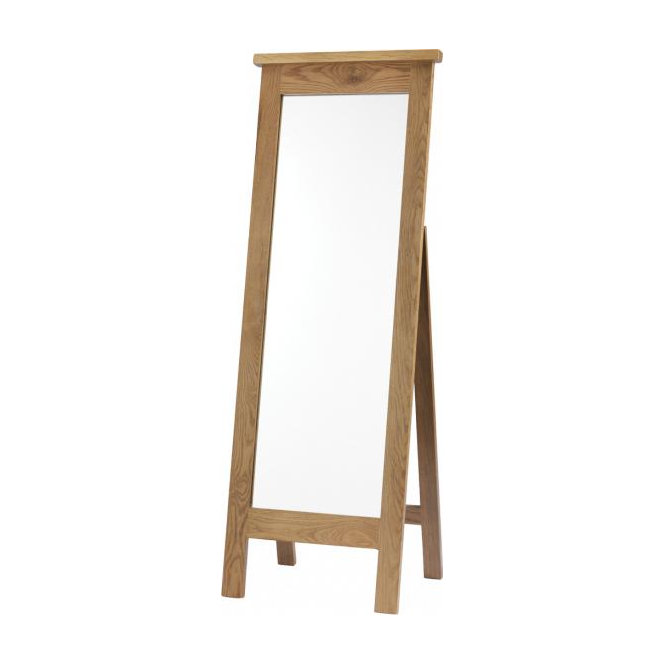 Eton Oak Cheval Mirror