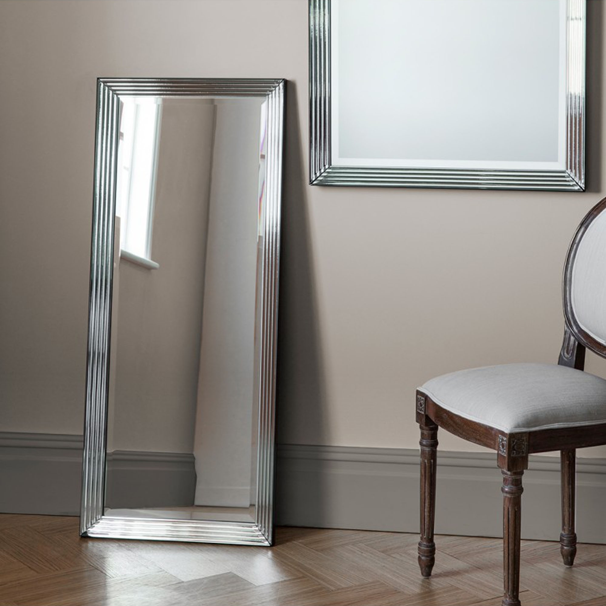 Exeter Long Wall Mirror Wall Mirrors Homesdirect365