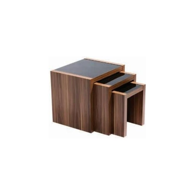 Fargo Walnut Nest Of 3 Tables